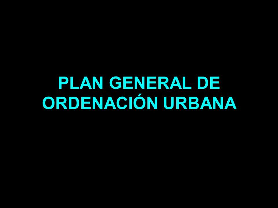 GENERAL URBAN DEVELOPMENT PLAN